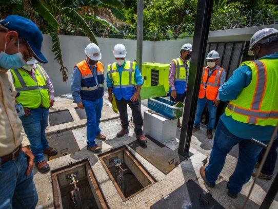 Inicia funcionamiento de estación de bombeo de aguas residuales y colectoras en San Miguelito