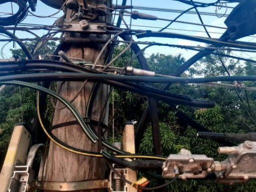 Hurto de cables un problema que ocasiona muchas pérdidas