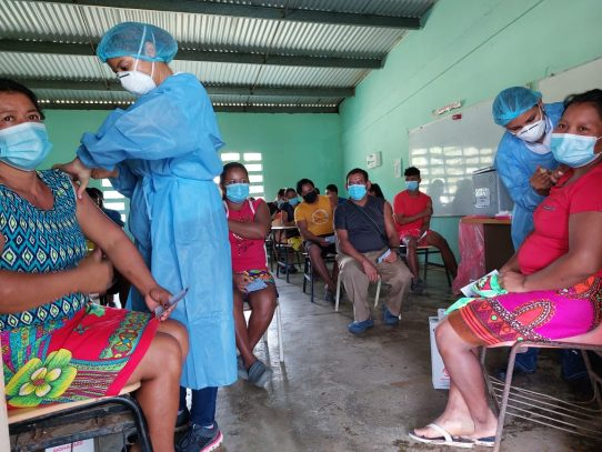 PanavaC-19 realiza barrido de vacunas en las comunidades del Lago Alajuela