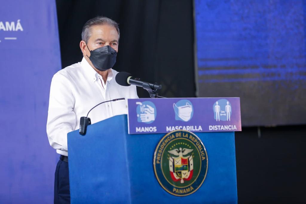 """Reactivación económica del país avanza con """"pasos seguros"""", afirmó Cortizo"""