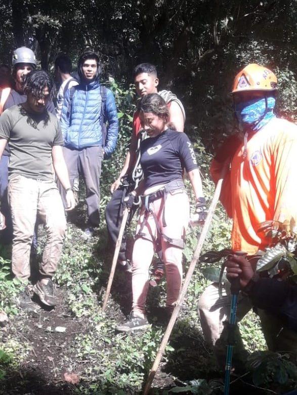 Rescatan a turista reportada como desaparecida en Boquete