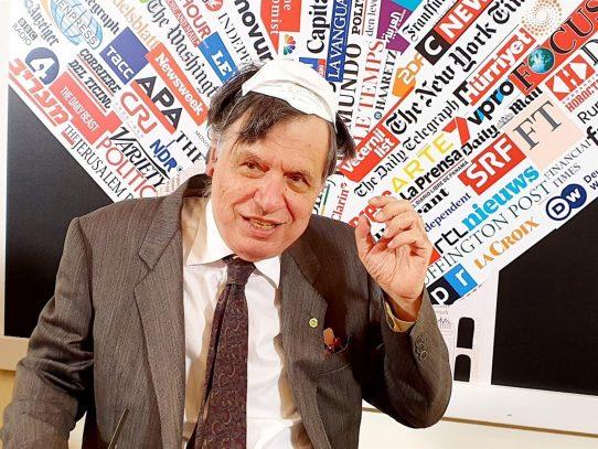 """Un Nobel de Física no es un """"todólogo"""", asegura el premiado Giorgio Parisi"""