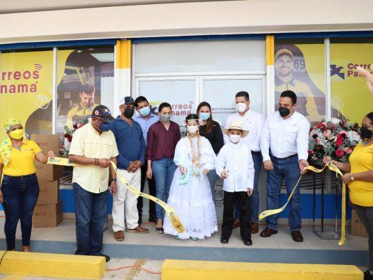 Inauguran nueva agencia postal en Chitré
