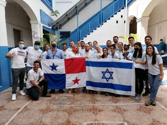 Jóvenes de Israel renuevan escuelas en la ciudad de Panamá