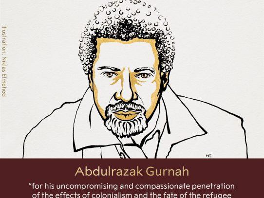 El tanzano Abdulrazak Gurnah, Premio Nobel de Literatura de 2021