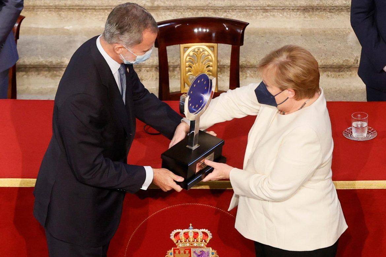 """Merkel: """"Solo una Europa unida es una Europa fuerte"""""""