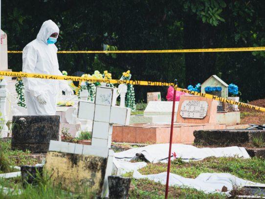 Dan con el hallazgo de 5 bolsas de restos óseos víctimas de la invasión de 1989