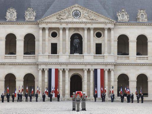 Solemne tributo en Francia al último héroe de la Resistencia contra los nazis