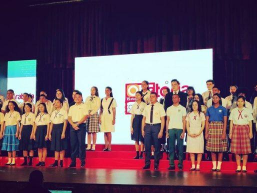 Se eligen los 45 estudiantes que representan las 16 regiones educativas del país para la gran preseleccion nacional