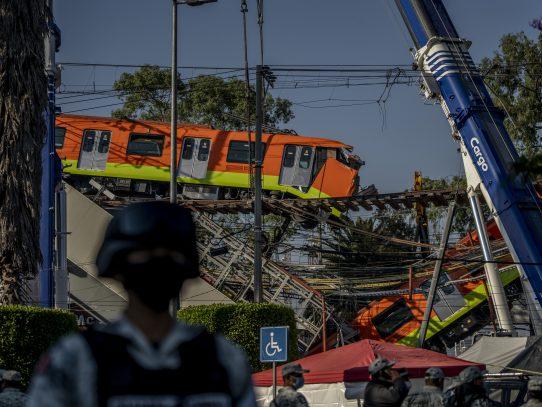 Defecto en colocación de los pernos llevó al colapso a línea 12 del metro de CDMX, dice la Fiscalía
