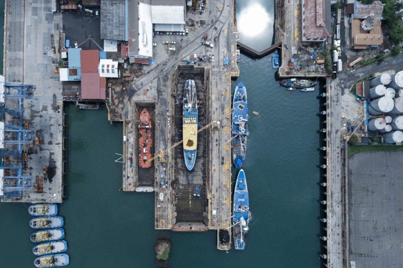 Firman contrato para operación del Astillero de Balboa