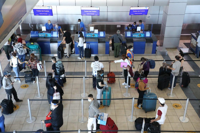 Tocumen recupera 53% en primer año de reactivación de vuelos comerciales
