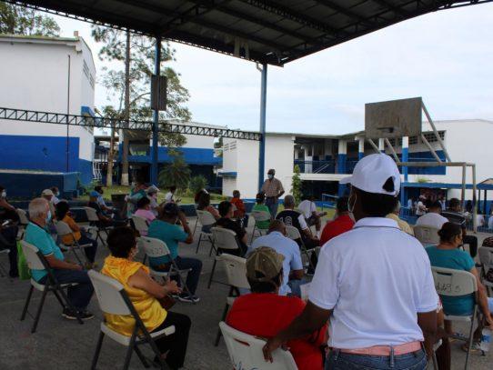 Aplican dosis de refuerzo contra la Covid-19 en San Miguelito