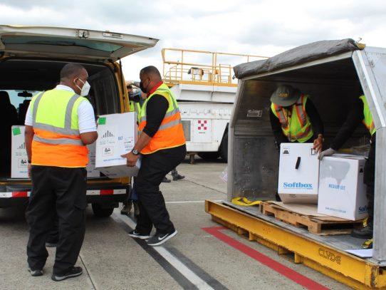 Panamá recibió el  trigésimo séptimo embarque de vacunas Pfizer