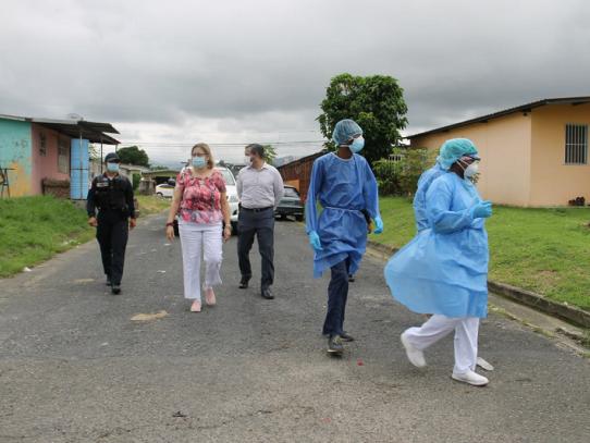 OPS presenta informe sobre el comportamiento de la COVID-19 en Panamá