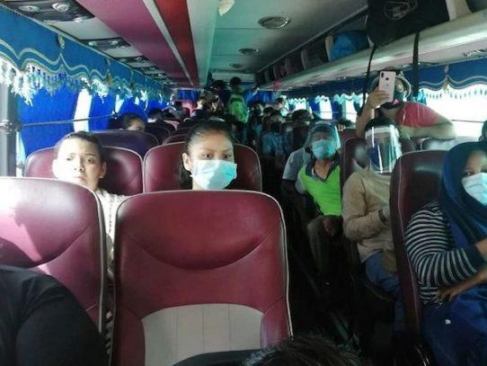 Migrantes nicaragüenses impedidos de ingresar a su país por medida sanitaria
