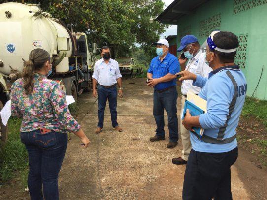 Director del IDAAN encabeza recorrido por planta potabilizadora de La Chorrera