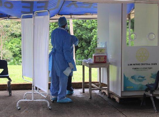 Colón registró más de 4 mil sintomáticos respiratorios de marzo a junio