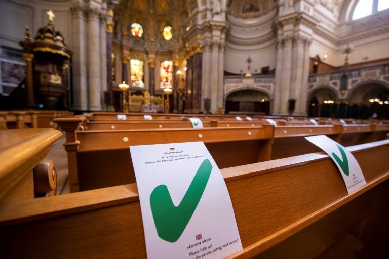 Decenas de personas contagiadas tras una misa en Fráncfort según medios alemanes