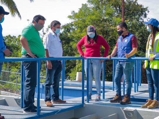 IDAAN inspecciona proyectos para reforzar suministro en San Carlos y Antón