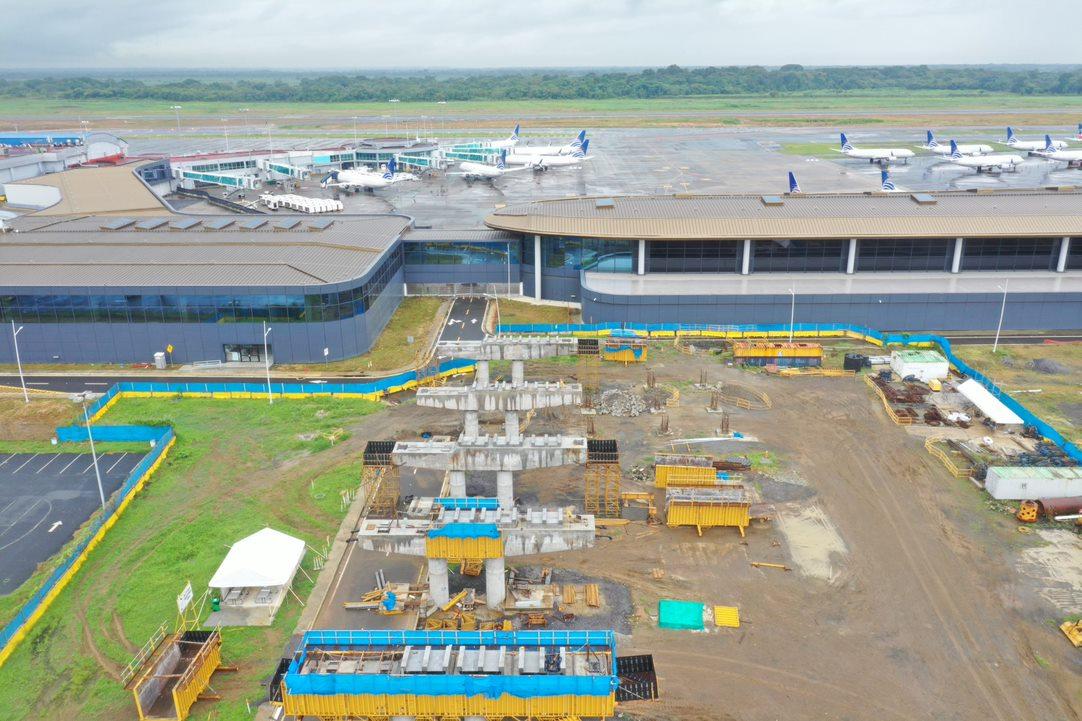 Estación del Metro del aeropuerto de Tocumen tiene un 38% de avance
