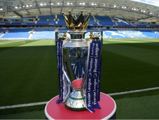 La Premier League se reanudaría el 17 de junio