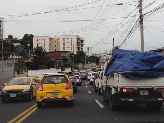 Viernes: Tranque de cuarentena en la capital
