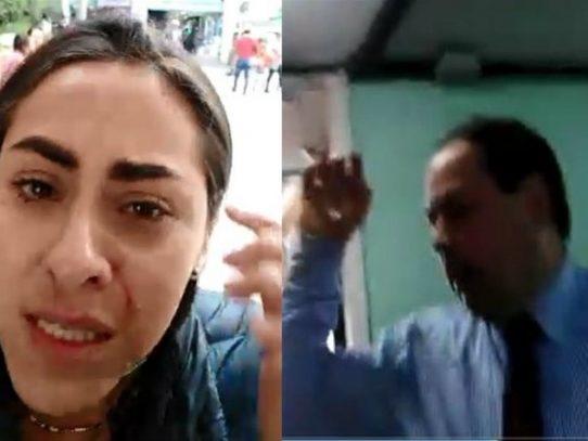En Colombia periodista denuncia agresión del director de la revista El Congreso