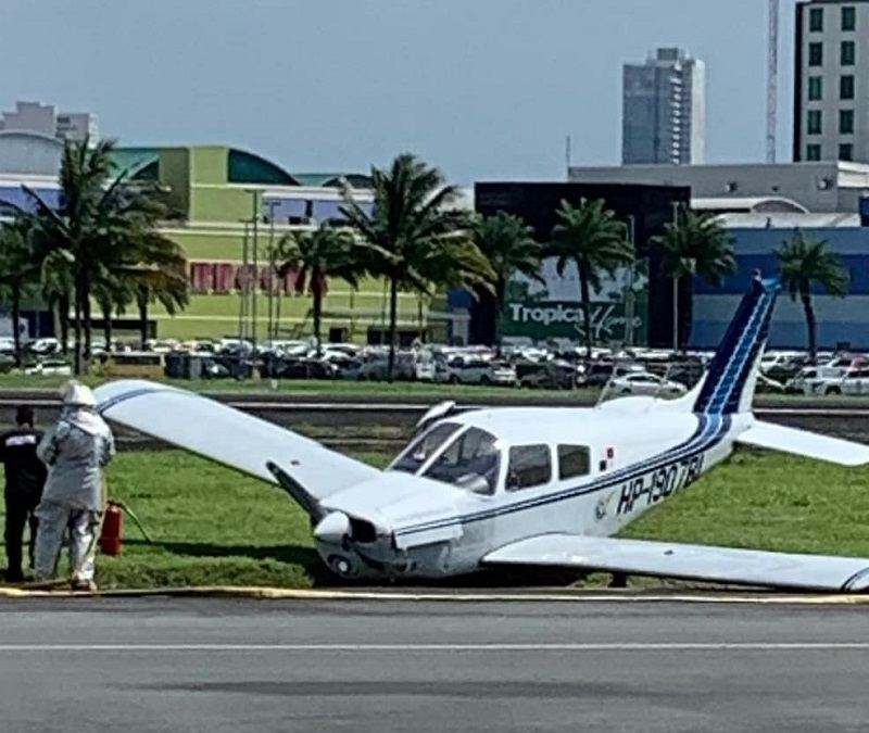Otra avioneta accidentada en Albrook
