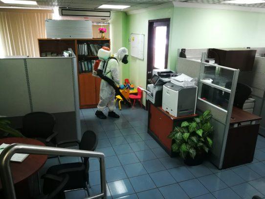 Más de 500 desinfecciones ha realizado la Unidad de Respuesta Inmediata contra Covid-19