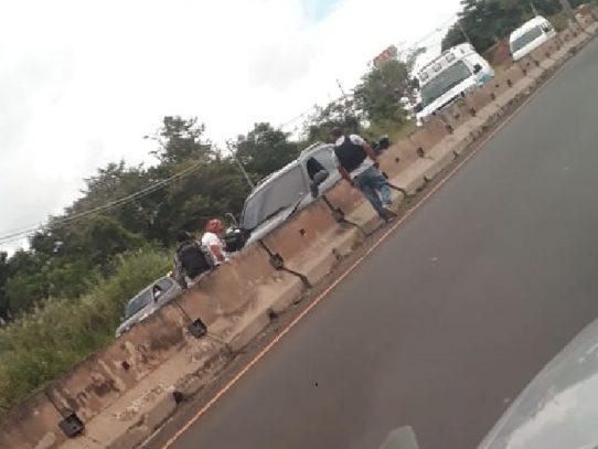 Muerto en la autopista Arraiján - La Chorrera tras tiroteo