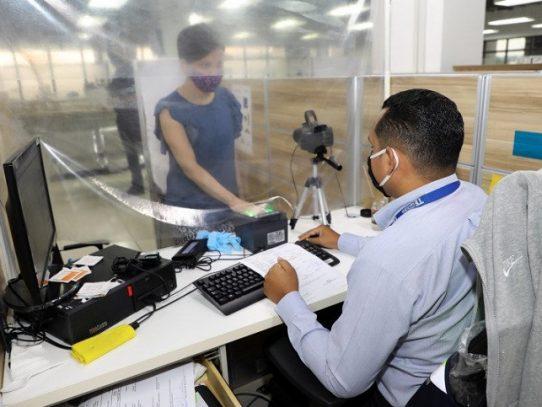 Tribunal Electoral  atiende 18,396 trámites de cedulación en julio