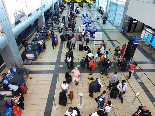 Aeropuerto de Tocumen movilizó más de 247 mil personas en un mes