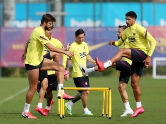 La Liga española ya calienta motores