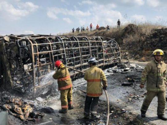 Un accidente de carretera causa 21 muertos en el este de México