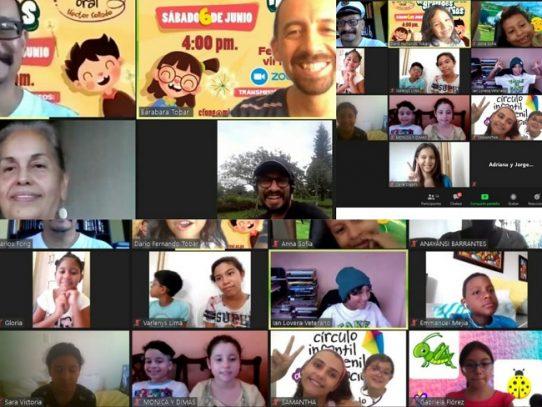 Festival Virtual de Pequeños Narradores se transmitirá por Zoom