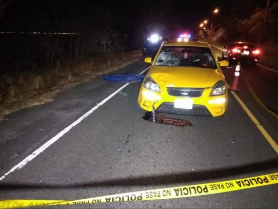 Muerto por atropello en Veracruz