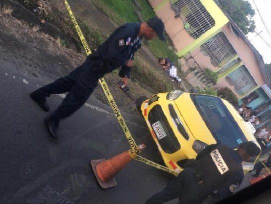 Un taxista muerto y otro herido de gravedad en distintos hechos