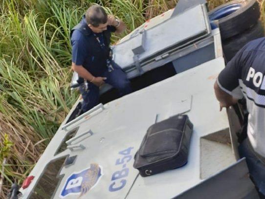 Vuelco de camión blindado deja un muerto en Chepo