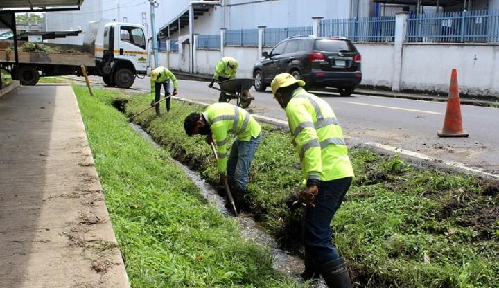 MOP busca impulsar proyecto de drenajes urbanos en la ciudad de Panamá