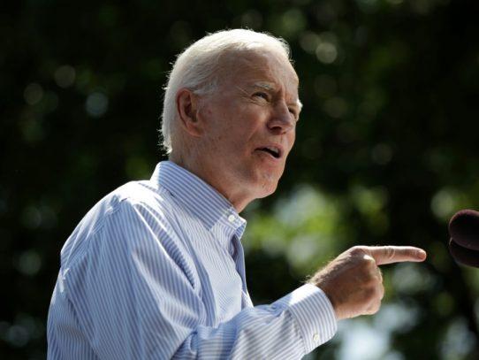 """""""Nunca ocurrió"""", Biden niega acusación de agresión sexual que amenaza su candidatura"""