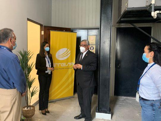 ETESA inaugura su primera sala de lactancia materna
