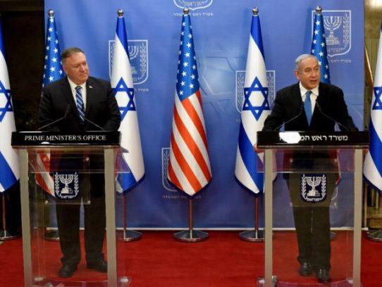 Pompeo inicia en Israel su gira por Medio Oriente