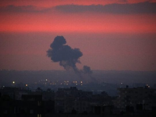 Nuevos bombardeos de Israel contra objetivos de Hamas en Gaza