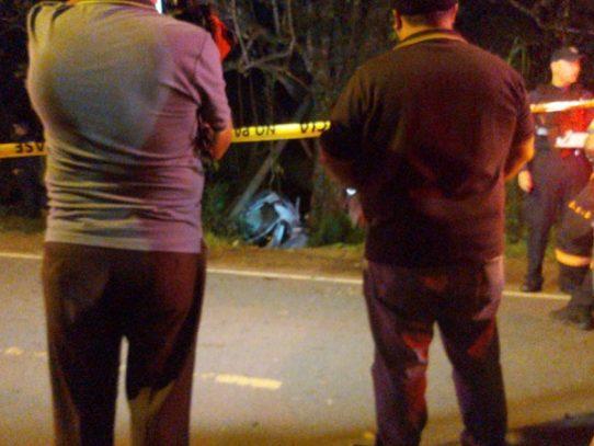 Dos víctimas fatales por hecho de tránsito en Arraiján