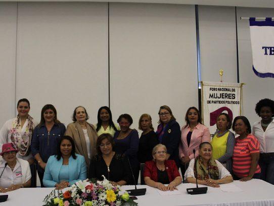 Mujeres de partidos políticos organizan actividades virtuales para celebrar su 27 aniversario