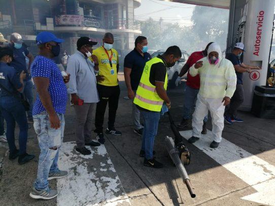 Alcaldía de San Miguelito emprende operativo de fumigación