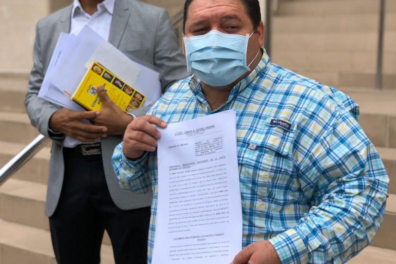 Alcalde de Santiago presenta ante al CSJ amparo contra decreto que levanto la ley seca