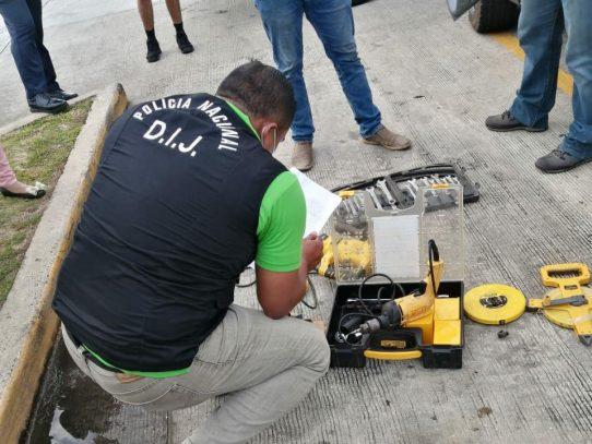 Recuperan bienes hurtados y aprehenden a tres personas en La Chorrera