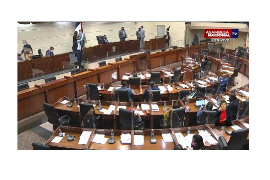 Asamblea emprende segundo debate al Presupuesto 2021